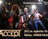 Roko legenda ACCEPT rudenį koncertuos Vilniuje su nauja programa